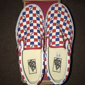 389064581a Vans Shoes - Vans Factory Pack Classic BMX Checkerboard Slip On